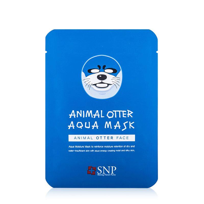snp动物面膜 海狮海豹保湿补水面膜 10片/盒 保湿补水